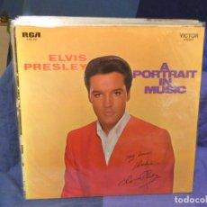 Discos de vinilo: LOTT133-140 LP ALEMANIA 70S BUEN ESTADO GENERAL GATEFOLD ELVIS PRESLEY A PORTRAIT IN MUSIC. Lote 288115138