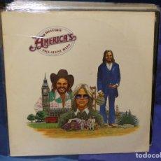 Discos de vinilo: LOTT133-140 LP ALEMANIA 80S AMERICA GREATEST HITS TAPA BIEN VINILO MUY BIEN HISTORY. Lote 288115193