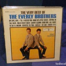 Discos de vinilo: LOTT133-140 LP ALEMANIA 70S BUEN ESTADO THE VERY BEST OF THE EVERLY BROTHERS MUY BUEN ESTADO GENERAL. Lote 288115298
