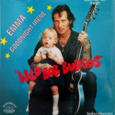 Discos de vinilo: DISCO SINGLE, WILD BOB BURGOS, EMMA, LIMITED EDITION, EX_EX - UK. 1981. Lote 288122068