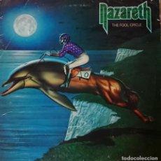 Discos de vinilo: NAZARETH - THE FOOL CIRCLE. Lote 288124513