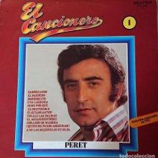Discos de vinilo: PERET - EL CANCIONERO. Lote 288124518