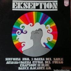 Discos de vinilo: EKSEPTION. Lote 288124533