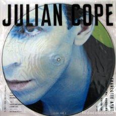 Discos de vinilo: JULIAN COPE * MAXI VINILO PICTURE-DISC * CHARLOTTE ANNE * RARE 1988 UK. Lote 288125208