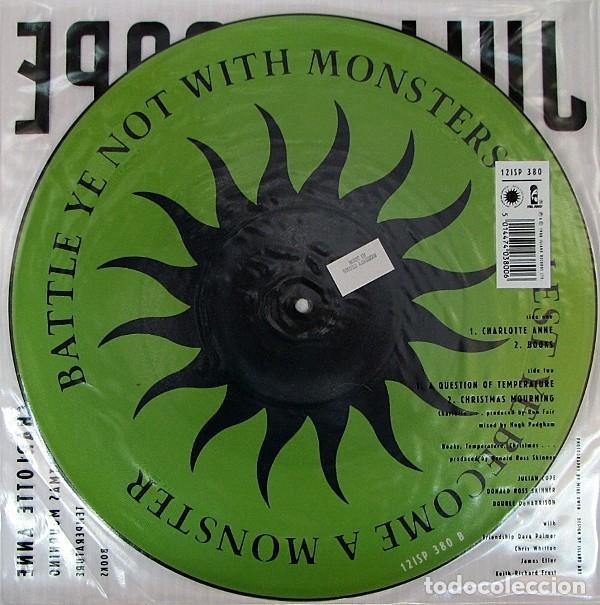 Discos de vinilo: Julian Cope * Maxi vinilo Picture-disc * Charlotte Anne * Rare 1988 UK - Foto 2 - 288125208