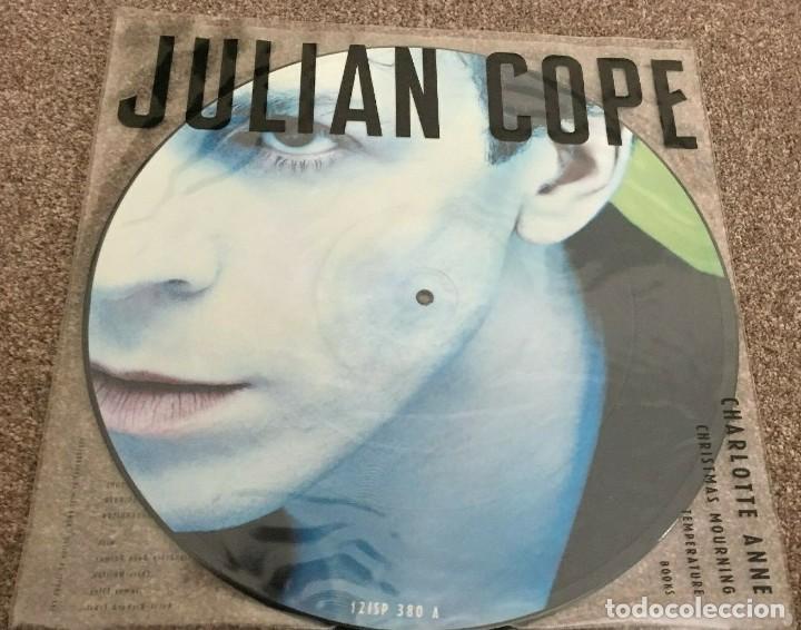 Discos de vinilo: Julian Cope * Maxi vinilo Picture-disc * Charlotte Anne * Rare 1988 UK - Foto 5 - 288125208