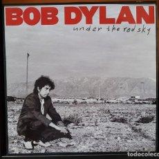 Discos de vinilo: BOB DYLAN - UNDER THE RED SKY LP - SPAIN 1990 ENCARTE. Lote 288130518