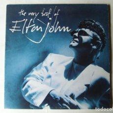 Discos de vinilo: DOBLE LP VINILO THE VERY BEST OF ELTON JOHN EDICION ESPAÑOLA. Lote 288130788