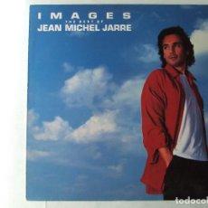 Discos de vinilo: LP VINILO IMAGES THE BEST OF JEAN MICHEL JARRE EDICION ESPAÑOLA. Lote 288130868