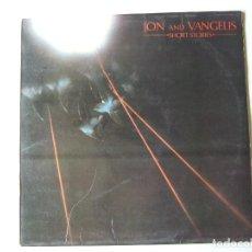 Discos de vinilo: LP VINILO JON AND VANGELIS SHORT STORIES EDICION ESPAÑOLA. Lote 288131003