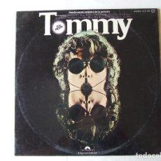 Discos de vinilo: DOBLE LP VINILO BANDA SONORA TOMMY THE WHO ELTON JOHN ERIC CLAPTON RONNIE WOOD EDICION ESPAÑOLA. Lote 288131703