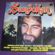 Discos de vinilo: SANDOKAN - LP NEVADA + POSTER 1976 - VERSIONES EXITOS 70'S - ABBA - DYLAN - SANTANA - ETC. Lote 288131753
