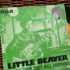 Discos de vinilo: SINGLE (VINILO) DE LITTLE BEAVER AÑOS 70. Lote 288131833