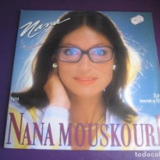 Discos de vinilo: NANA MOUSKOURI – NANA - DOBLE LP PHILIPS 1987 - MELODICA POP 70'S 80'S - SIN APENAS USO - 20 TEMAS. Lote 288132628