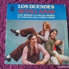 """Discos de vinilo: LOS DUENDES – SEVILLANAS, VINYL, 7"""" EP 1973 SPAIN HH 16-832. Lote 288133118"""
