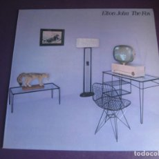 Discos de vinilo: ELTON JOHN – THE FOX - LP ROCKET RECORD 1981 - GLAM POP ROCK 70'S 80'S - DIRIA Q SIN USO. Lote 288134323