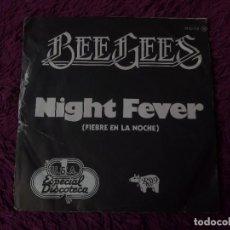 """Discos de vinilo: BEE GEES – NIGHT FEVER , VINYL, 7"""" SINGLE 1977 SPAIN 20 90 272. Lote 288134503"""