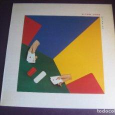 Discos de vinilo: ELTON JOHN – 21 AT 33 - LP ROCKET RECORD 1980 - GLAM POP ROCK 70'S 80'S - DIRIA Q SIN USO. Lote 288134573