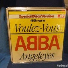 Discos de vinilo: LOTT133-140 MAXI SINGLE ULTRA PETARDO ABBA VOULEZ VOUS SPECIAL DISCO VERSION 1979. Lote 288135623