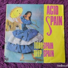 "Discos de vinilo: ACID SPAIN , VINYL, 7"" SINGLE 1989 SPAIN 874 730-7. Lote 288135678"