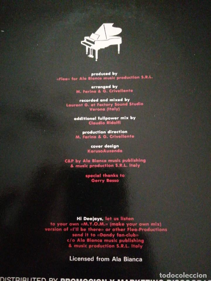 Discos de vinilo: Disco música LP vinilo maxi single Dandy Ill BE THERE - Foto 2 - 288136718