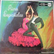 Discos de vinilo: SANTIAGO NEBOT BANDURRIA - AUGUSTO HITA GUITARRA AIRES ESPAÑOLES ASTURIAS ,DANZA DEL MOLINERO , SEV. Lote 288136743