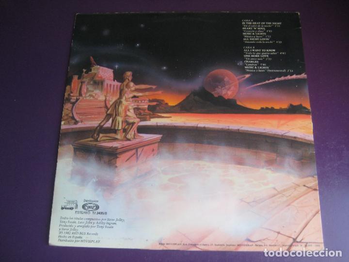 Discos de vinilo: Imagination – In The Heat Of The Night - LP RED BUS 1982 - ELECTRONICA DISCO FUNK 80S - LEVE USO - Foto 2 - 288137003