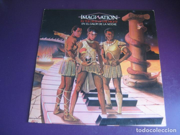 IMAGINATION – IN THE HEAT OF THE NIGHT - LP RED BUS 1982 - ELECTRONICA DISCO FUNK 80'S - LEVE USO (Música - Discos - LP Vinilo - Disco y Dance)