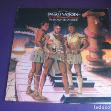 Discos de vinilo: IMAGINATION – IN THE HEAT OF THE NIGHT - LP RED BUS 1982 - ELECTRONICA DISCO FUNK 80'S - LEVE USO. Lote 288137003