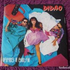 """Discos de vinilo: DIDAO – VAMOS A BAILAR , VINYL, 7"""" SINGLE 1991 SPAIN 03.4065. Lote 288137023"""