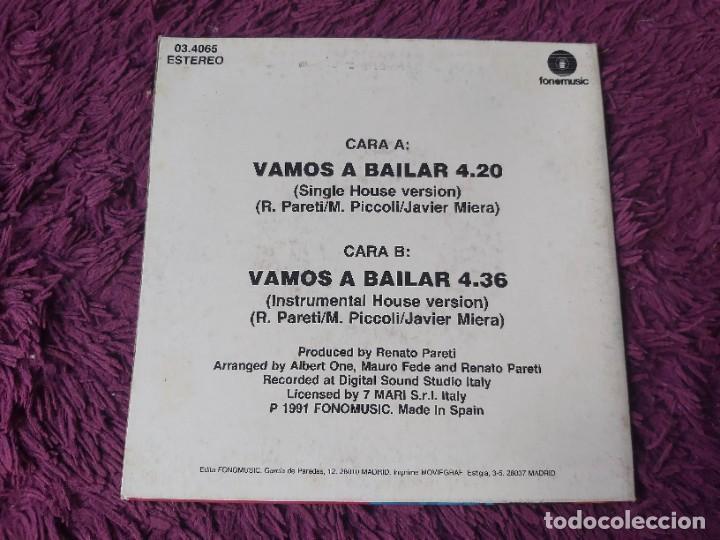 """Discos de vinilo: Didao – Vamos A Bailar , Vinyl, 7"""" Single 1991 Spain 03.4065 - Foto 2 - 288137023"""