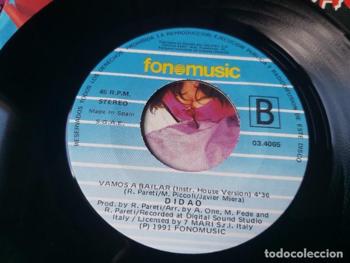 """Discos de vinilo: Didao – Vamos A Bailar , Vinyl, 7"""" Single 1991 Spain 03.4065 - Foto 5 - 288137023"""