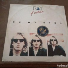 Discos de vinilo: DISCO MÚSICA LP VINILO MAXI SINGLE RAY FOSTER BE MY GIRL INSTRUMENTAL. Lote 288137283