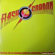 Discos de vinilo: FLASH GORDON MUSICA DE LA BANDA SONORO ORIGINAL POR QUEEN. Lote 288137563