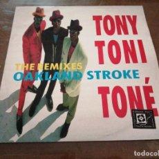 Discos de vinilo: DISCO MÚSICA LP VINILO MAXI SINGLE TONY TONI TONE THE REMIXES OAKLAND STROKE AÑO 1990. Lote 288139188
