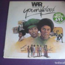 Discos de vinilo: WAR – YOUNGBLOOD - LP ZAFIRO 1979 PRECINTADO - BSO CINE - FUNK DISCO 70'S BLACK MUSIC. Lote 288141153