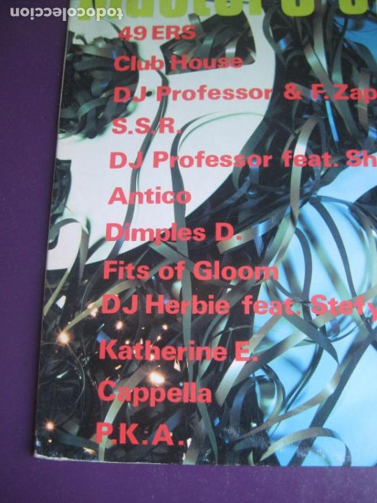 Discos de vinilo: Masters Of Media - LP MEDIA ITALIA 1992 - ELECTRONICA HOUSE - 12 TEMAS - 12 ARTISTAS - POCO USO - Foto 2 - 288142893