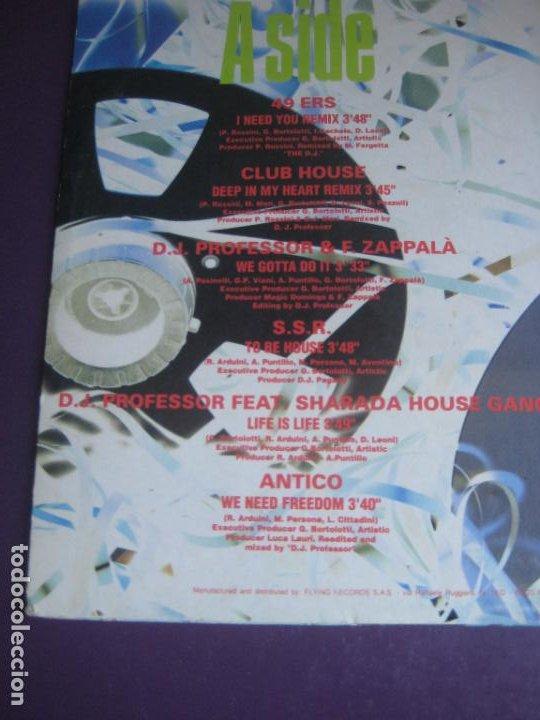 Discos de vinilo: Masters Of Media - LP MEDIA ITALIA 1992 - ELECTRONICA HOUSE - 12 TEMAS - 12 ARTISTAS - POCO USO - Foto 4 - 288142893