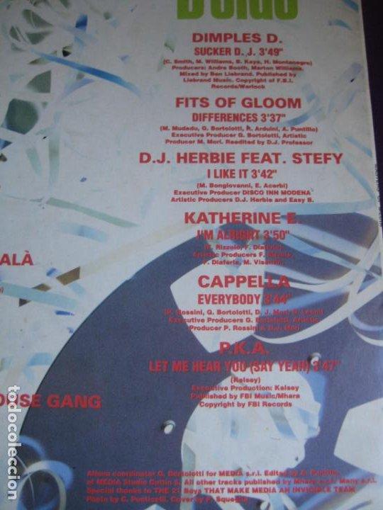 Discos de vinilo: Masters Of Media - LP MEDIA ITALIA 1992 - ELECTRONICA HOUSE - 12 TEMAS - 12 ARTISTAS - POCO USO - Foto 5 - 288142893