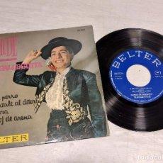Discos de vinilo: MATILDE LA GALLEGUITA / AY MI PERRO + 3 / EP - BELTER-1962 / MBC. ***/***. Lote 288145043