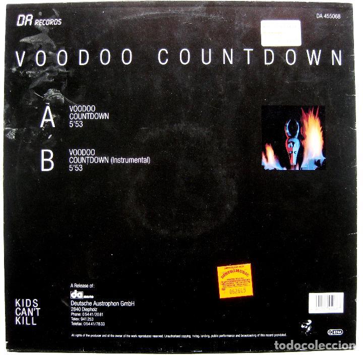 Discos de vinilo: Kids Cant Kill - Voodoo Countdown - Maxi DA Records 1988 Germany BPY - Foto 2 - 288147693