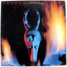 Discos de vinilo: KIDS CAN'T KILL - VOODOO COUNTDOWN - MAXI DA RECORDS 1988 GERMANY BPY. Lote 288147693