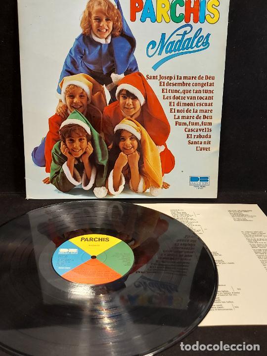 Discos de vinilo: PARCHIS / NADALES / LP-GATEFOLD-DESPLEGABLE 3D - BELTER-1980 / MBC. ***/*** LETRAS. - Foto 2 - 288147708