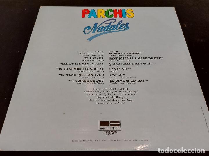 Discos de vinilo: PARCHIS / NADALES / LP-GATEFOLD-DESPLEGABLE 3D - BELTER-1980 / MBC. ***/*** LETRAS. - Foto 4 - 288147708