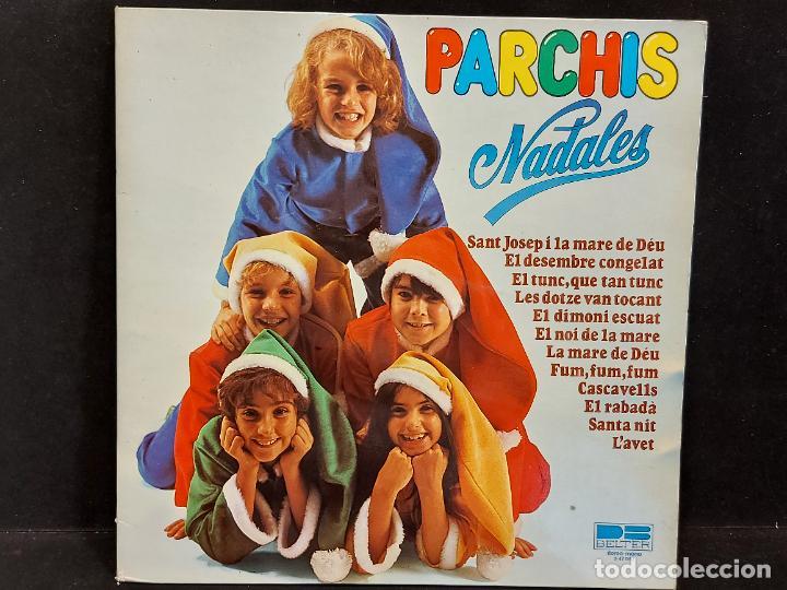 PARCHIS / NADALES / LP-GATEFOLD-DESPLEGABLE 3D - BELTER-1980 / MBC. ***/*** LETRAS. (Música - Discos - LPs Vinilo - Música Infantil)