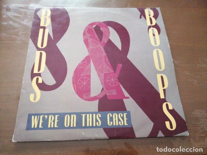 DISCO MÚSICA LP VINILO MAXI SINGLE BUDS BOOPS WE'RE ON THIS CASE (Música - Discos de Vinilo - Maxi Singles - Pop - Rock - New Wave Internacional de los 80)