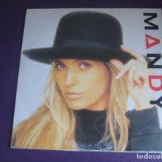 Discos de vinilo: MANDY - LP SANNI 1988 SIN USO - ELECTRONICA DISCO POP 80'S - PORTADA UN POCO ROZADA. Lote 288148693