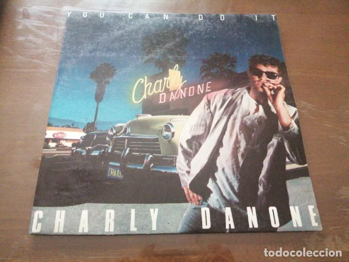 DISCO MÚSICA LP VINILO MAXI SINGLE CHARLY DANONE YOU CAN DO IT (Música - Discos de Vinilo - Maxi Singles - Pop - Rock - New Wave Internacional de los 80)