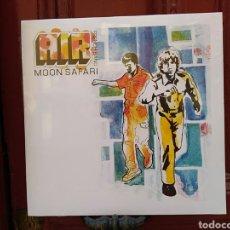Discos de vinilo: AIR FRENCH BAND-MOON SAFARI. LP VINILO OFICIAL. Lote 288149538