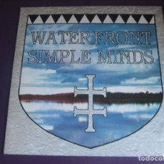 Discos de vinilo: SIMPLE MINDS – WATERFRONT - MAXI SINGLE VIRGIN 1983 - NEW WAVE POP 80'S - EDICION INGLESA SIN USO. Lote 288150313